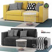 Sofas Vimle Ikea(3ddanlod.ir) 399