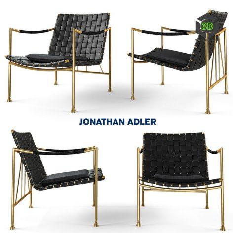 THEBES LOUNGE CHAIR Jonathan Adler(3ddanlod.ir) 964