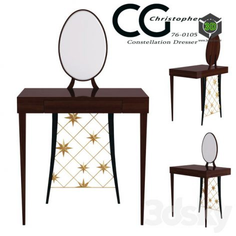 Table Constellation Dresser Christopher Guy(3ddanlod.ir) 296