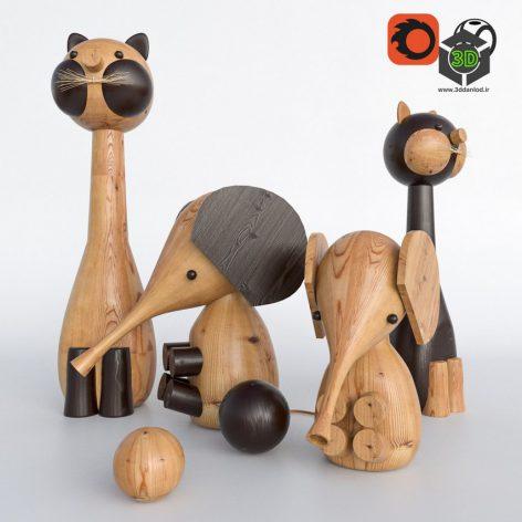 Toys Made of Wood(3ddanlod.ir) 1133