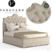Vanguard Furniture Flora Queen Bed(3ddanlod.ir) 180 (3ddanlod.ir)