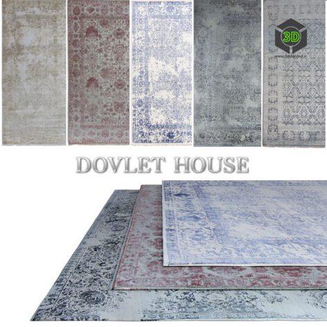 Ковры DOVLET HOUSE 5 штук (part 35) 049 (3ddanlod.ir)