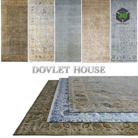 Ковры DOVLET HOUSE 5 штук (part 40) 054 (3ddanlod.ir)
