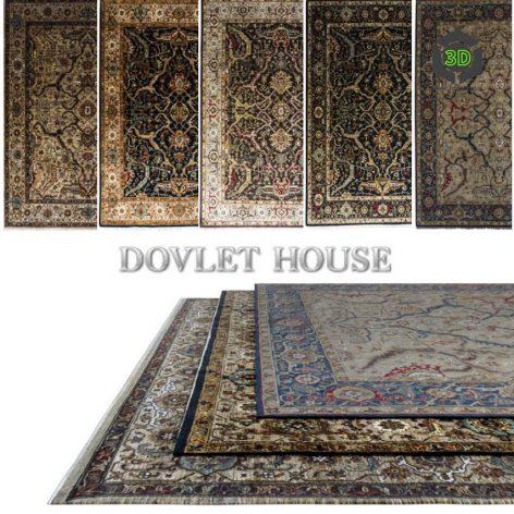 Ковры DOVLET HOUSE 5 штук (part 42) 056 (3ddanlod.ir)