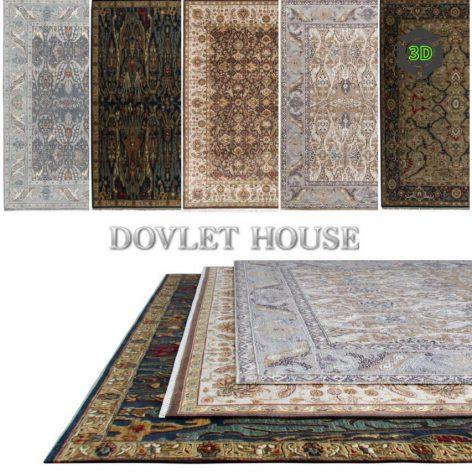 Ковры DOVLET HOUSE 5 штук (part 44) 058 (3ddanlod.ir)
