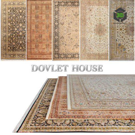 Ковры DOVLET HOUSE 5 штук (part 64) 078 (3ddanlod.ir)