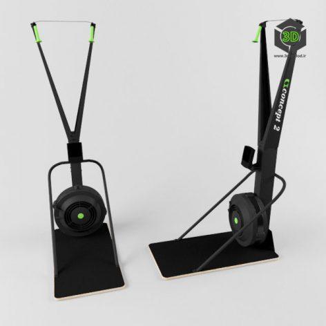 Лыжный тренажер Concept 2 SkiErg 119 (3ddanlod.ir)
