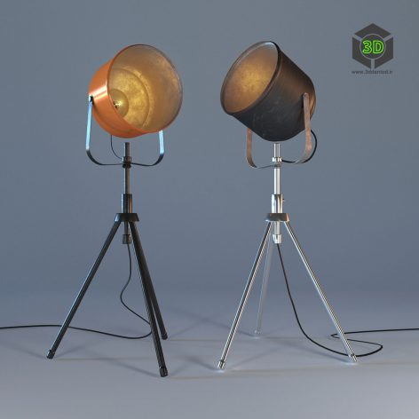 Напольная лампа-софит 130 (3ddanlod.ir)
