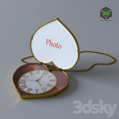 Часы-Кулон 020 (3ddanlod.ir)
