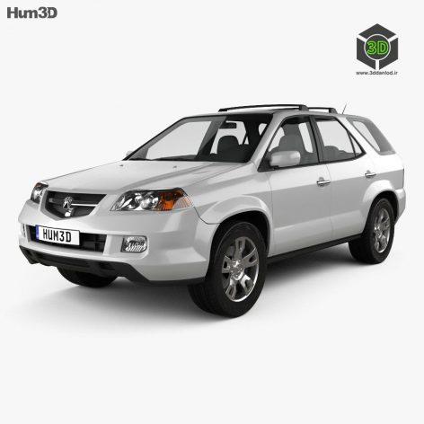 Acura MDX 2003 3D model (2)(3ddanlod.ir)