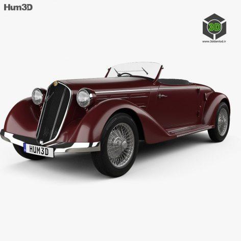 Alfa Romeo 6C 2300 S Touring Pescara Spider 1935 3D Model (2)(3ddanlod.ir)