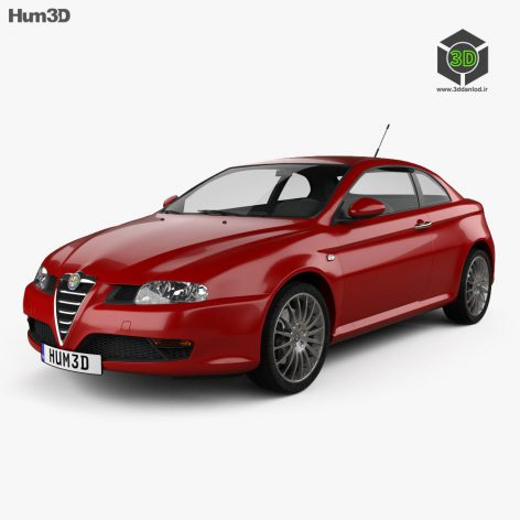 Alfa Romeo GT 20043ddanlod.ir  472x472 - دانلود آبجکت ماشین 463