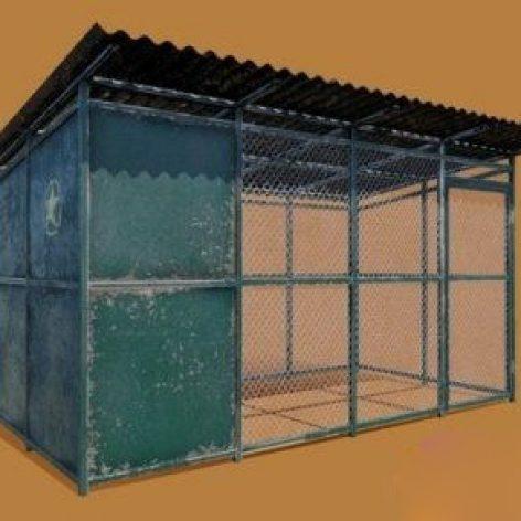 Animated Shelter 3D model 016 (3ddanlod.ir)