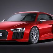 Audi R8 V10 Plus 2016 3d Model(3ddanlod.ir)