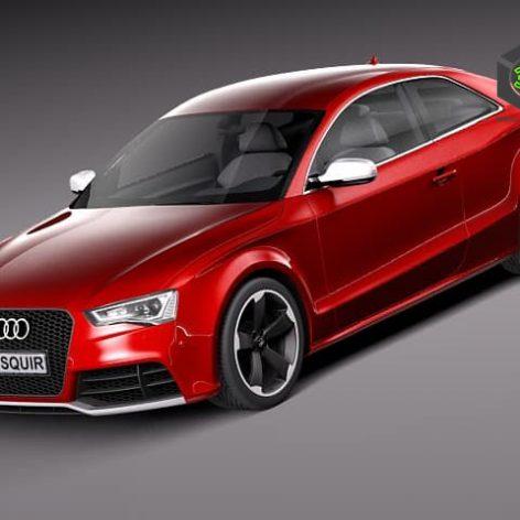 Audi RS5 2012 3D Model (2)(3ddanlod.ir)