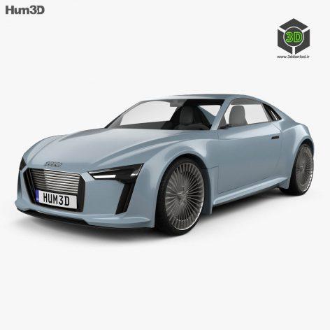 Audi e-tron 2010(3ddanlod.ir)