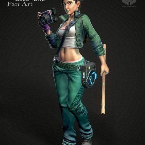 Beyond Good & Evil Jade 3D Model (3ddanlod.ir)