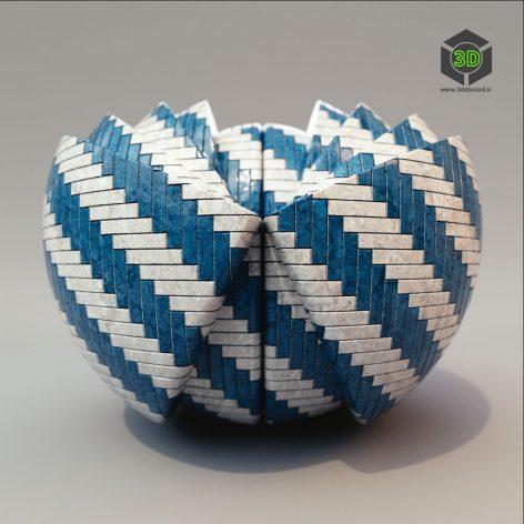 BlueLayeredTiles (3ddanlod.ir)
