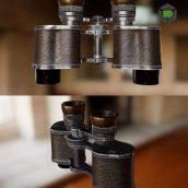 Carl Zeiss Jena Telex Binoculars – 3D Model (3ddanlod.ir)