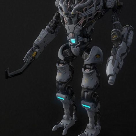 Collossus 3D model 027 (3ddanlod.ir)