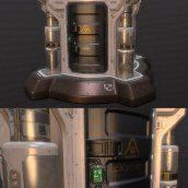 Doom props Elevator – 3D Model (3ddanlod.ir)