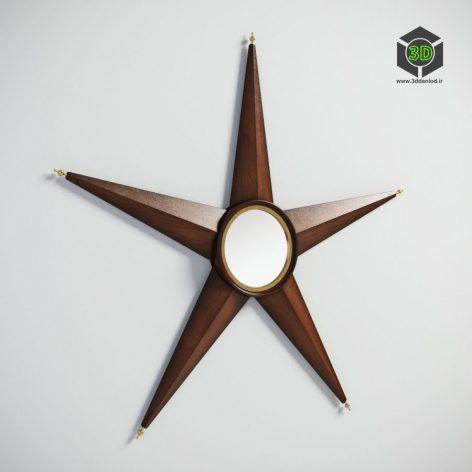GRAMERCY HOME - STARBURST MIRROR 901.015-CRC 050 (3ddanlod.ir)
