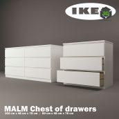 IKEA Malm 092 (3ddanlod.ir)