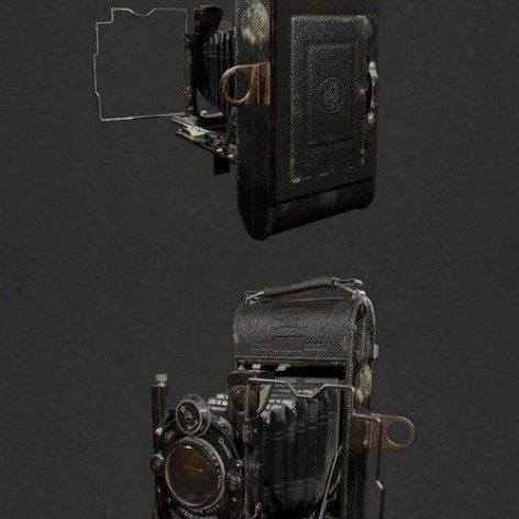Icarette L Camera – 3D Model (3ddanlod.ir)