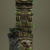 Incan Totem – 3D Model (3ddanlod.ir)