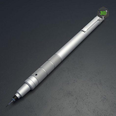 Japanese mechanical pencil 056 (3ddanlod.ir)