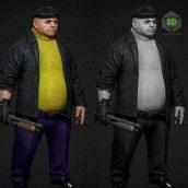Kingpin Criminal Baron 3D Model (3ddanlod.ir)