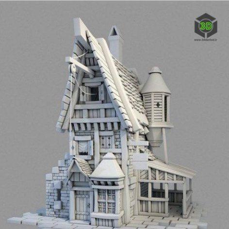 Little House – 3D Model (3ddanlod.ir)