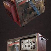 Mobile Generator – 3D Model (3ddanlod.ir)