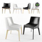 Moore Chair - i 4 Mariani 160 (3ddanlod.ir)