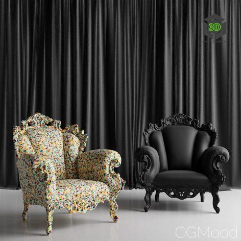 Proust Arm Chair 036 (3ddanlod.ir)