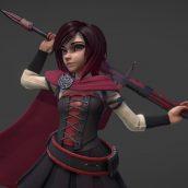Ruby Rose 3d model 001 (3ddanlod.ir)