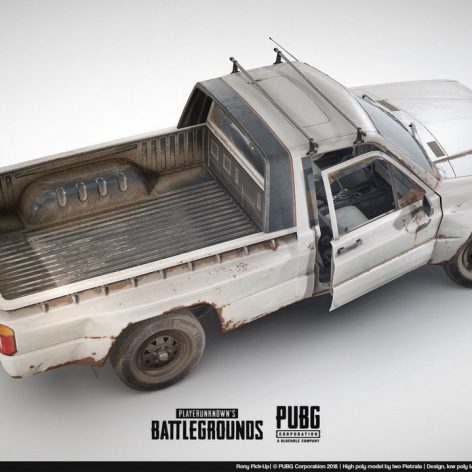 The Rony Pick-Up 3D Model (3ddanlod.ir)