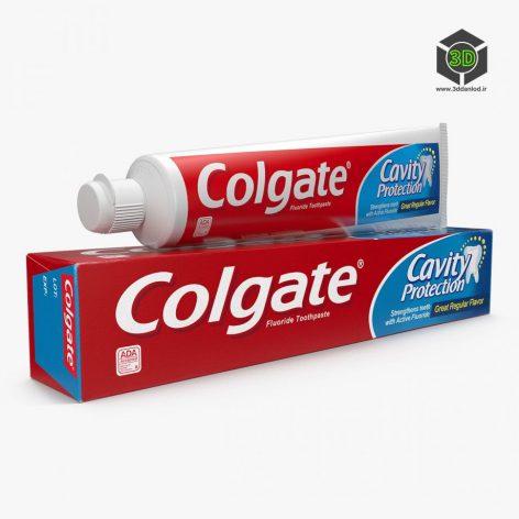 Toothpaste – 3D Model 004 (3ddanlod.ir)