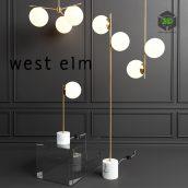 WEST ELM Sphere Lamp(3ddanlod.ir) 925