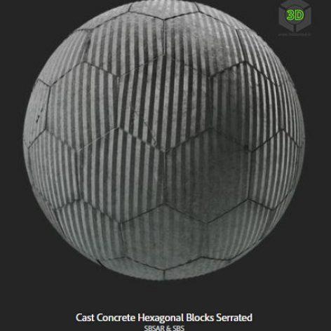 cast_concrete_hexagonal_blocks_serrated (3ddanlod.ir)