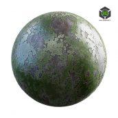 flaked_green_painted_metal_30_16_render (3ddanlod.ir)