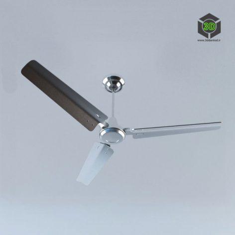 Вентилятор потолочный алюминий 157 (3ddanlod.ir)