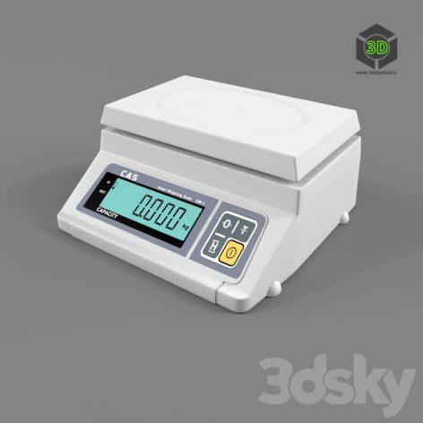 Весы электронные cas sw 038 (3ddanlod.ir)