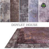 Ковры DOVLET HOUSE 5 штук (part 3) 184 (3ddanlod.ir)