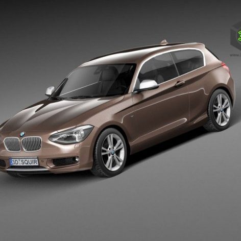 BMW 1 3door 2013(3ddanlod.ir)