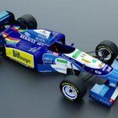 Benetton B195 1995 (Formula 1) 3d model(3ddanlod.ir)