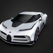 Bugatti Centodieci 2020 Low-poly 3D model(3ddanlod.ir)