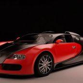 Bugatti Veyron 3D Model(3ddanlod.ir)
