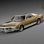 Buick Riviera GS Boattail 1971(3ddanlod.ir)