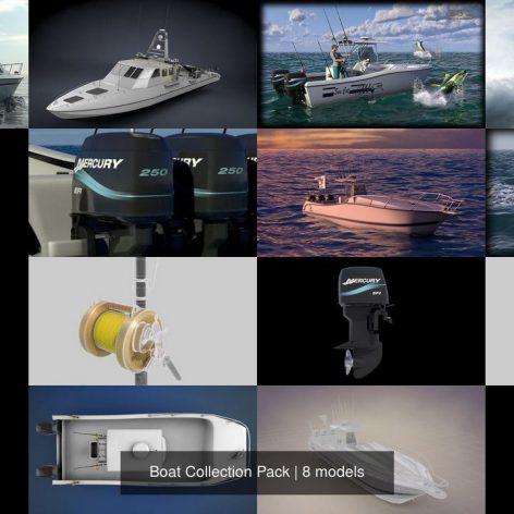 دانلود آبجکت قایق 026